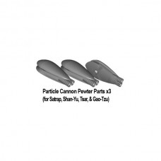 Venus: Particle Cannon Pewter Parts x3